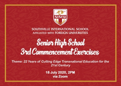 Senior High School 3rd Commencement Exercise