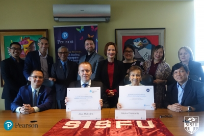 Pearson UK is bridging the Skills Gap: SISFU is now recognized as an LCCI centre in the Philippines