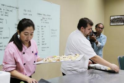 Culinary Institute at SISFU: A Bread-making Demo