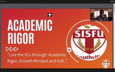 SISFU SHS Opens the New Academic Year Online