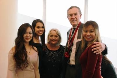 Hospitality Management students attend graduation in the Philippines and Australia