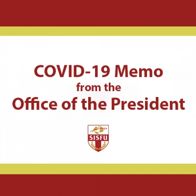 COVID-19: Memo from the Office of the President