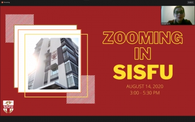 Zooming in SISFU, Let's VOLT in!  A Hallmark Event in SISFU's History